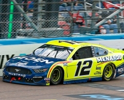 TOP-10 FINISH TO END THE 2020 SEASON FOR BLANEY