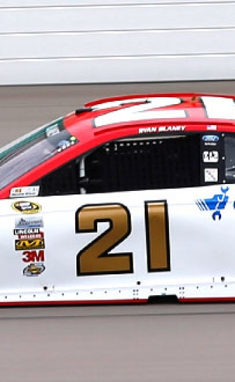 Motorcraft/Quick Lane Fusion Comes Home in 14th at Kansas
