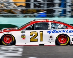 BLANEY GIVES WOOD BROTHERS BEST SEASON FINISH SINCE 1995