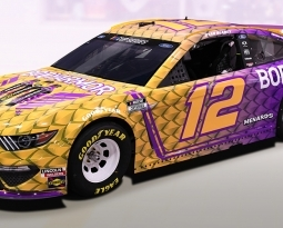 RYAN BLANEY TO HONOR KOBE BRYANT AT AUTO CUP 400 WITH PAINT SCHEMES AND CEREMONY